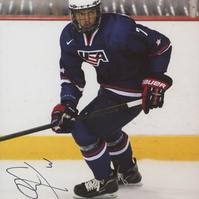 Seth Jones Signed Team USA 8x10 Photo (PSA COA)