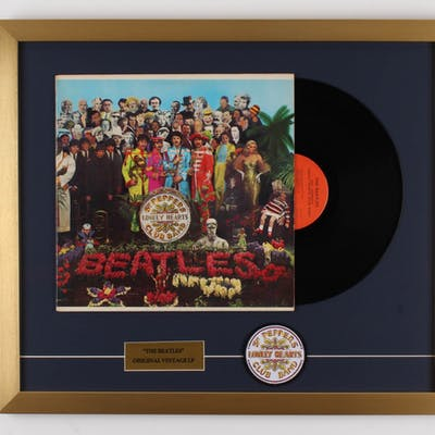 """The Beatles """"Sgt. Pepper's Lonely Hearts Club Band"""" 20.5x24 Custom"""