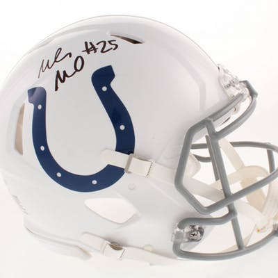 Marlon Mack Signed Indianapolis Colts Full-Size Authentic On-Field