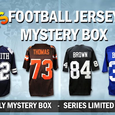 Schwartz Sports HOT HITS Signed Football Jersey Mystery Box – Series