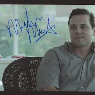 """Michael Moseley Signed """"Ozark"""" 8x10 Photo (JSA COA)"""