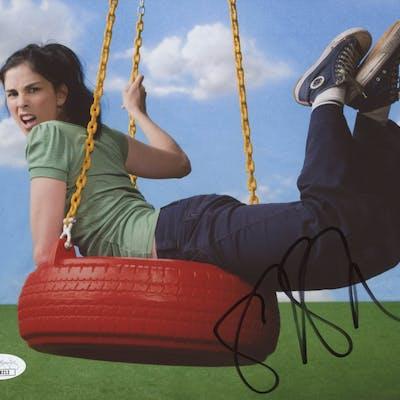 Sarah Silverman Signed 8x10 Photo (JSA COA)