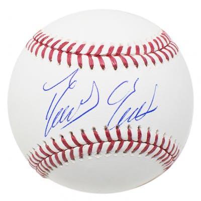 Domingo German Signed OML Baseball (JSA COA)