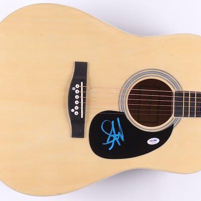 Steven Tyler Signed Acoustic Guitar (PSA COA)