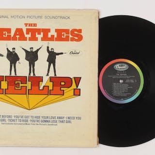 """The Beatles """"Help!"""" Vinyl Record Album"""