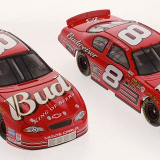 Lot of (2) Dale Earnhardt Jr 1:24 Scale Die Cast Cars with (1) #8