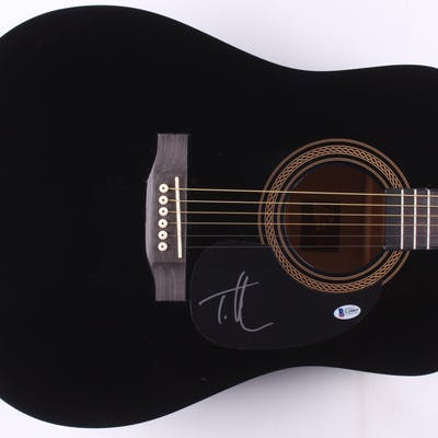 "Tim McGraw Signed 40"" Acoustic Guitar (Beckett COA)"