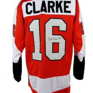 Bobby Clarke Signed Jersey (JSA COA)