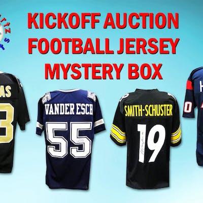 Schwartz Sports KICKOFF AUCTION Signed Football Jersey Mystery Box