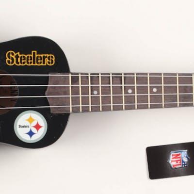 JuJu Smith-Schuster Signed Pittsburgh Steelers Mini Acoustic Guitar (TSE COA)