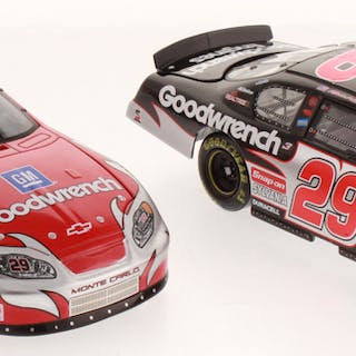 Lot of (2) Kevin Harvick LE 1:24 Scale Die Cast Cars with (1) #29