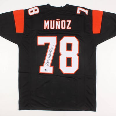 Anthony Munoz Signed Jersey (Schwartz COA)