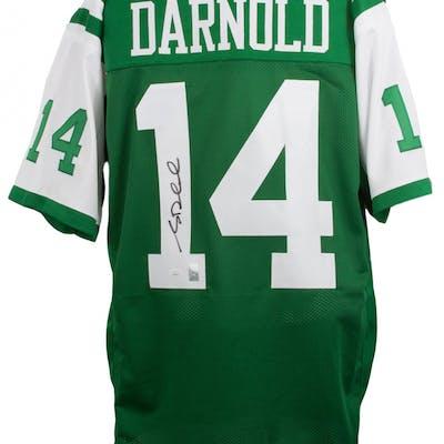 Sam Darnold Signed Jersey (JSA COA)