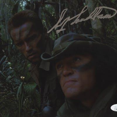 "Sonny Landham Signed ""Predator"" 8x10 Photo (JSA COA)"