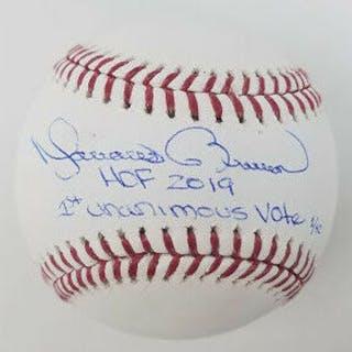 "Mariano Rivera Signed Limited Edition OML Baseball Inscribed ""HOF"