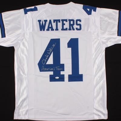 """Charlie Waters Signed Jersey Inscribed """"America's Team"""" (JSA COA)"""