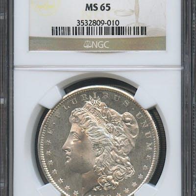 1880-S $1 Morgan Silver Dollar (NGC MS 65)