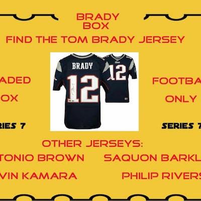 "WSD ""Brady Box"" Mystery Jersey Box - Autographed Football Jersey Series #7"