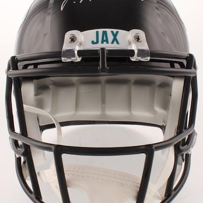 Josh Allen Signed Jacksonville Jaguars Full-Size Speed Helmet (Radtke COA)