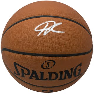 Giannis Antetokounmpo Signed Official NBA Game Ball Series Basketball (JSA COA)