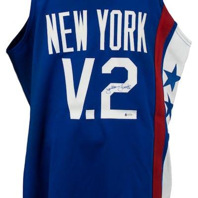 Julius Erving Philadelphia 76ers Mitchell & Ness Jersey (Beckett Hologram)