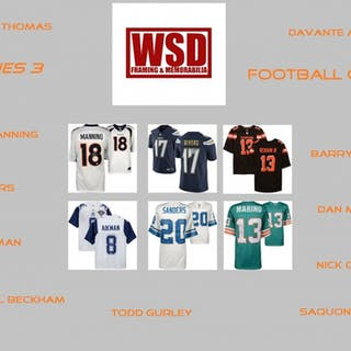 "WSD ""Football Only"" Mystery Jersey Box - Autographed Football Jersey Series #3"