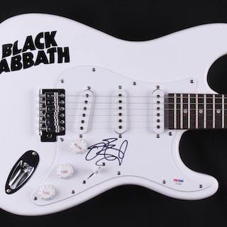 "Ozzy Osbourne Signed ""Black Sabbath"" 38"" Electric Guitar (PSA COA)"