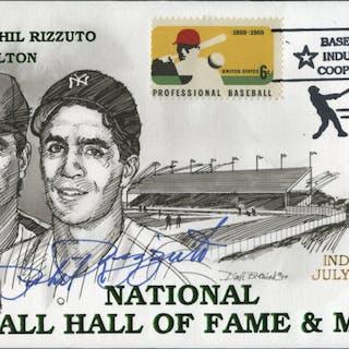 Phil Rizzuto Signed 1994 FDC Envelope (JSA COA)