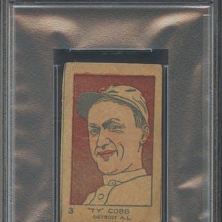 1926-27 W512 #3 Ty Cobb (PSA 1.5)