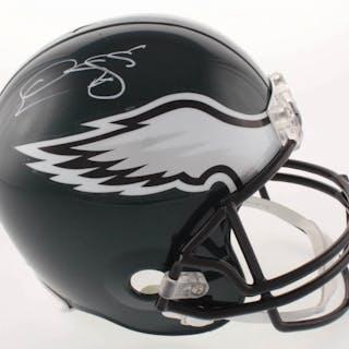 Donovan McNabb Signed Philadelphia Eagles Full-Size Helmet (Beckett COA)
