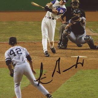 Luis Gonzalez Signed Arizona Diamondbacks 8x10 Photo (Beckett COA)