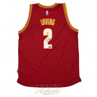 Kyrie Irving Signed Cleveland Cavaliers Jersey (Panini COA)