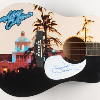 "Joe Walsh Signed Eagles ""Hotel California"" 41"" Acoustic Guitar (JSA Hologram)"