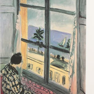 "Henri Matisse ""Seaside"" Limited Edition 11.5x14.5 Giclee (PA LOA)"