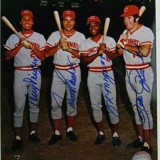 "1970's Cincinnati Reds ""Big Red Machine"" 8x10 Photo Team-Signed by"