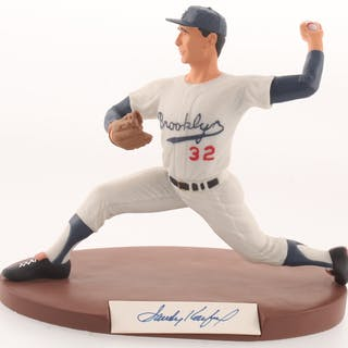Sandy Koufax Signed LE Brooklyn Dodgers Salvino High Quality Figurine