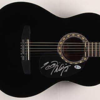 "Hank Williams Jr. Signed 38"" Acoustic Guitar (Beckett COA)"
