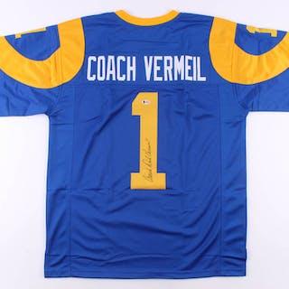 Dick Vermeil Signed Jersey (Beckett COA)
