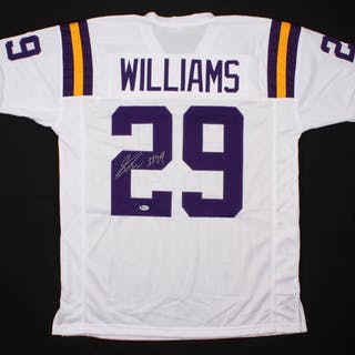 Greedy Williams Signed Jersey (Beckett COA)