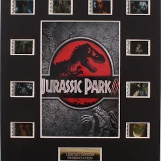 """Jurassic Park III"" LE 8x10 Custom Matted Original Film / Movie Cell Display"