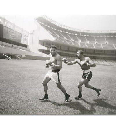 Muhammad Ali Licensed 40x30 Photograph with Ken Norton