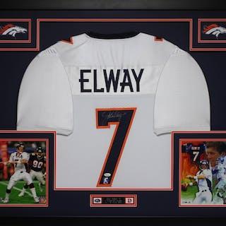 8fa0fcb6210 John Elway Signed Broncos 35