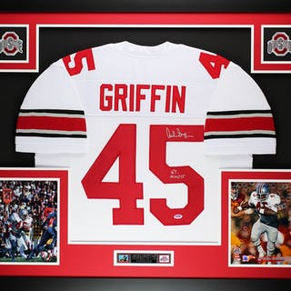 5ea747d663c Archie Griffin Signed Ohio State Buckeyes 35