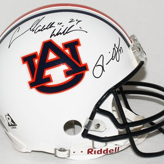 """Ronnie Brown & Carnell """"Cadillac"""" Williams Signed Auburn Full-Size"""