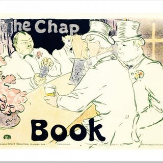 """The Chap Book"" Hand Pulled 19x26 Lithograph by the RE Society"