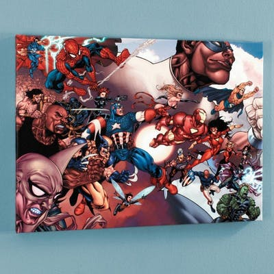"""""""What If? Civil War #1"""" Limited Edition 18x24 Giclee on Canvas by"""