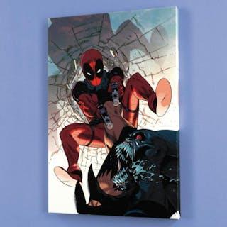 """""""Deadpool #6"""" LE 18x27 Giclee on Canvas by Jason Pearson and Marvel Comics"""