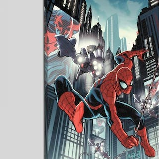 """""""Timestorm 2009/2099: Spider-Man One-Shot #1"""" LE 18x27 Giclee on Canvas"""