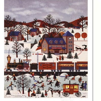 """Jane Wooster Scott Signed """"The View at Ardmore Junction"""" Limited Edition"""
