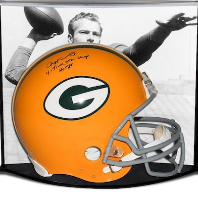 Paul Hornung Signed LE Green Bay Packers Full-Size Authentic On-Field